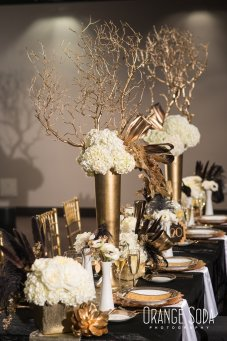 EFI Art Deco Tablescape