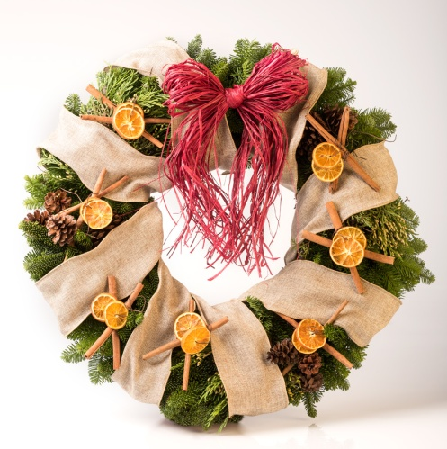 EFI Holiday Spice Wreath Building Kit