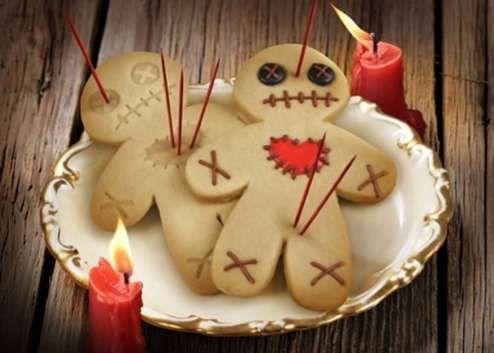 vooddo doll cookies