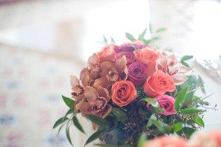 Enchanted Florist Las Vegas Rose and Orchid Centerpiece 3