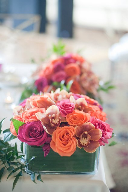Enchanted Florist Las Vegas Rose and Orchid Centerpiece 4