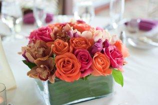 Enchanted Florist Las Vegas Rose and Orchid Centerpiece 6