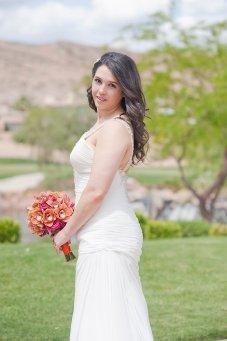 Enchanted Florist Las Vegas Rose and Orchid Love Bride 2