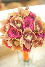 Enchanted Florist Las Vegas Rose and Orchid Love Brides Bouquet