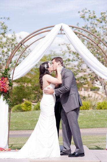 Enchanted Florist Las Vegas Rose and Orchid Love Couple