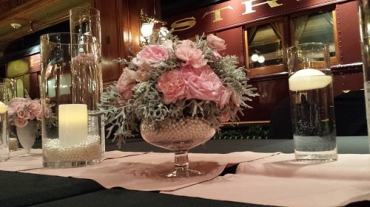1920's pink and pearl centerpiece 1-min