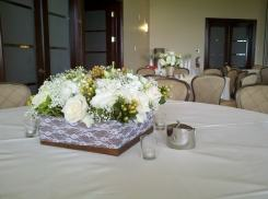 Vintage Lace Centerpiece